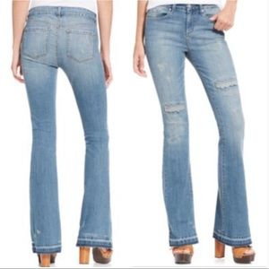 Jessica Simpson Uptown Slim Flare Jeans